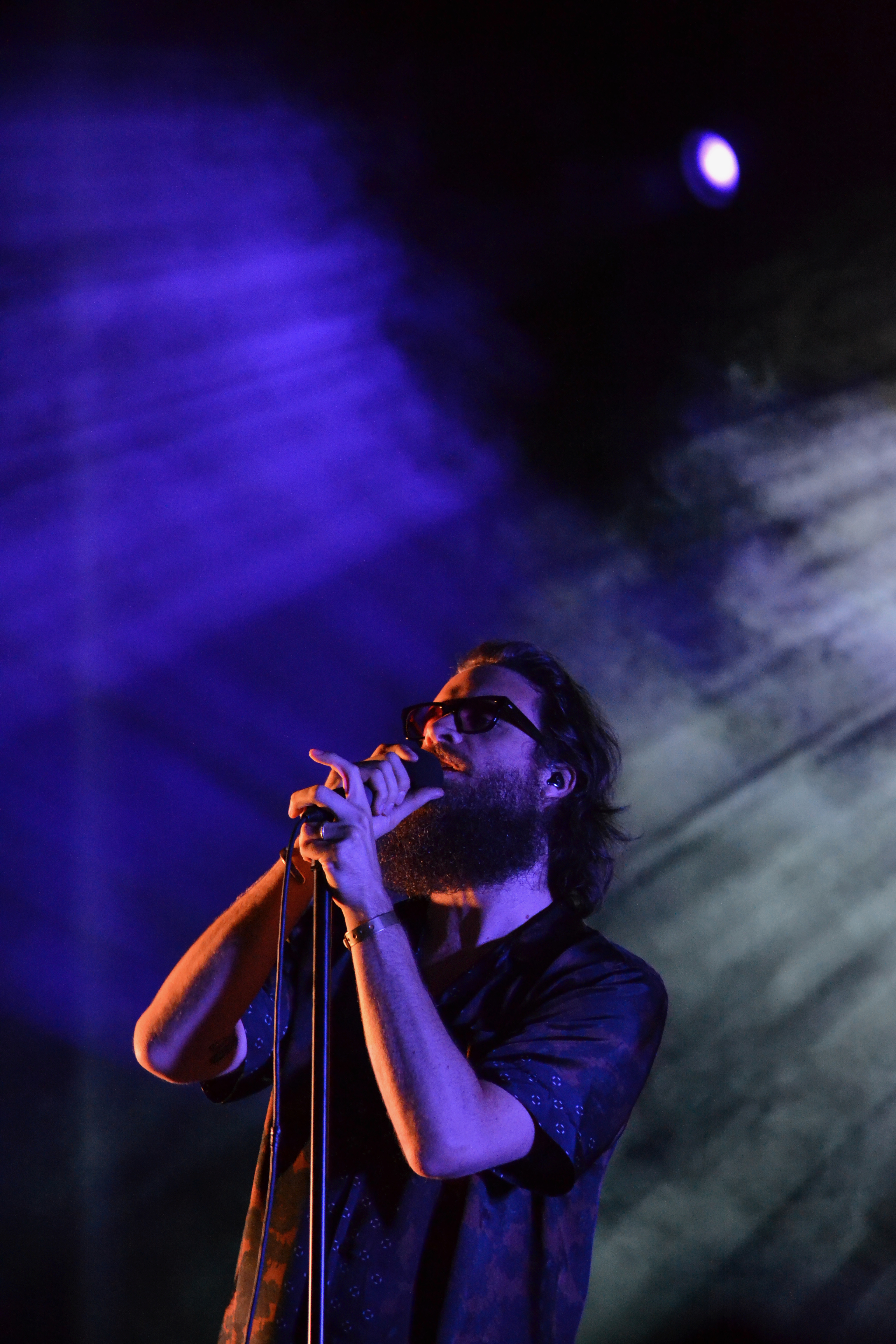 Father John Misty performs April 29, 2018 at Fortress Festival in Fort Worth.